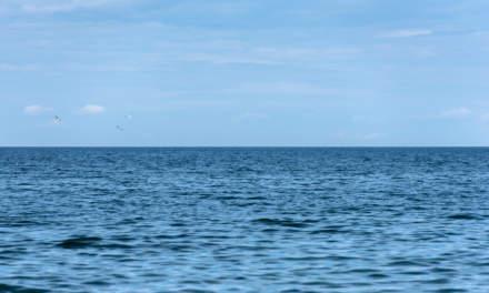 Vättern –water to the horizon