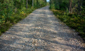 Gravel road II – a bumpy one