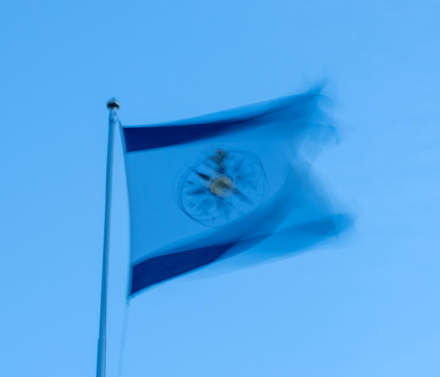 The flag of the Swedish Cruising Association