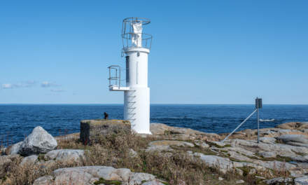 Kågnäshällan – the lighthouse