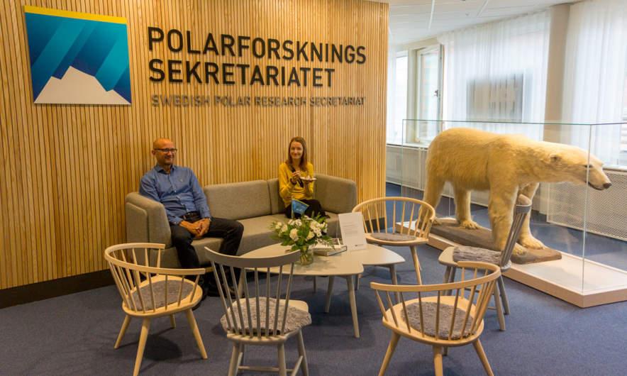 Swedish Polar Research Secretariat –entrance hall