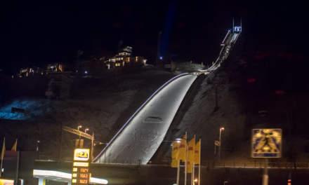 Ski jump in Örnsköldsvik
