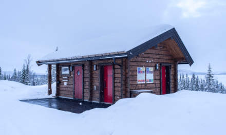 Norwegian shelter from the outside
