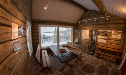 Norwegian shelter from the inside