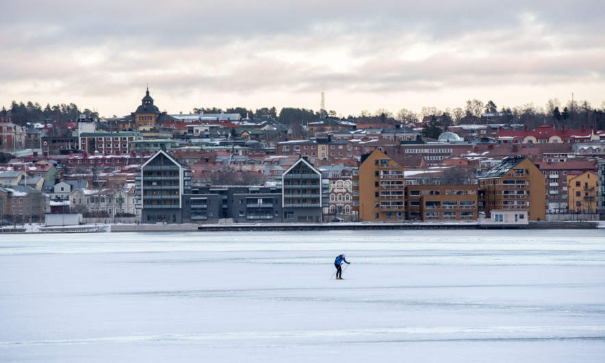 Östersund and the lake Storsjön
