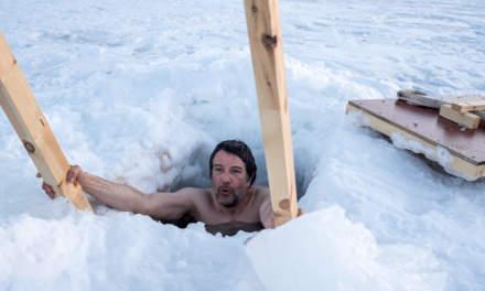 Ice bath (Photo: Annika Kramer)