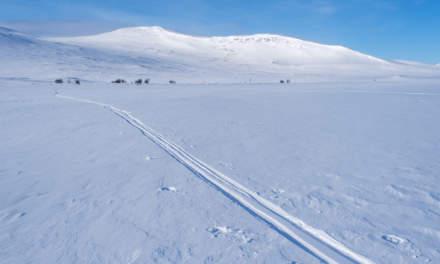 My pulka tracks