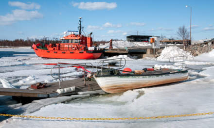 10 years ago: a pilot vessel