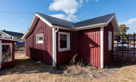 Our new house in Obbola –guest cabin