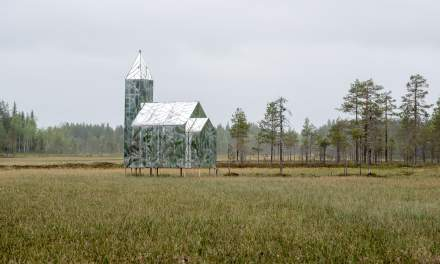 Hägring – an art installation on a bog
