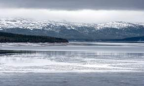 Frozen lake I