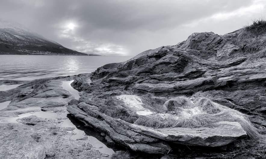 Tromsøb/w – Coast I