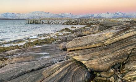 Promenade I – rocks at the west shore of Tromsøya