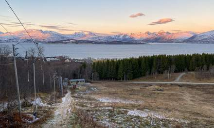 Promenade IV –view from the top of the ski slope