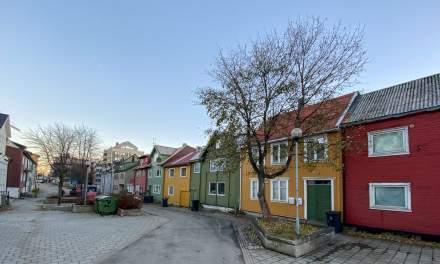 Promenade VIII –Prestenggata, one of my favourite streets in Tromsø