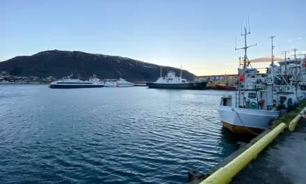 Promenade IX –at  the eastern shore of Tromsøya
