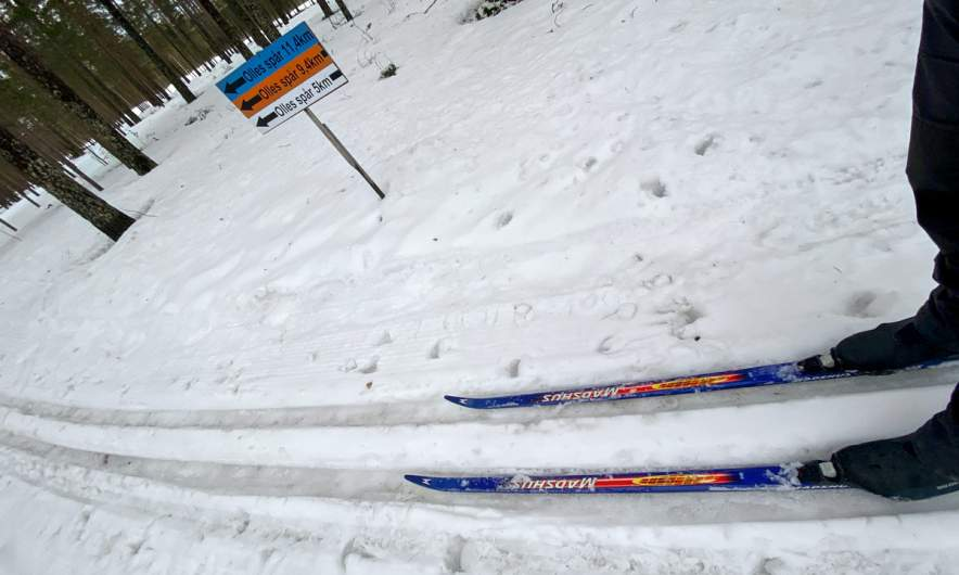 Skiing on Olles Spår I