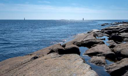 Seaside cliff of Bredskär
