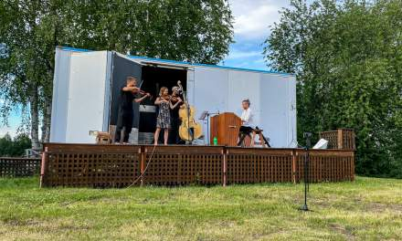 The other open-air concert in the evening