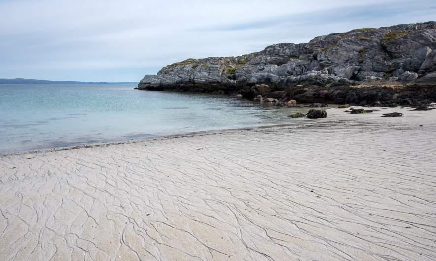 A small beach near Forsøl