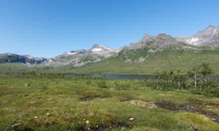 Mountain section on Kvaløya