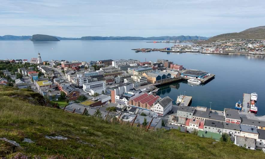 View on Hammerfest