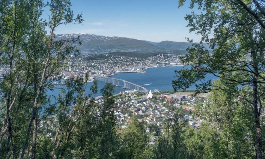 View on Tromsø and beyond