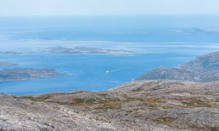 View on the Kaldfjorden