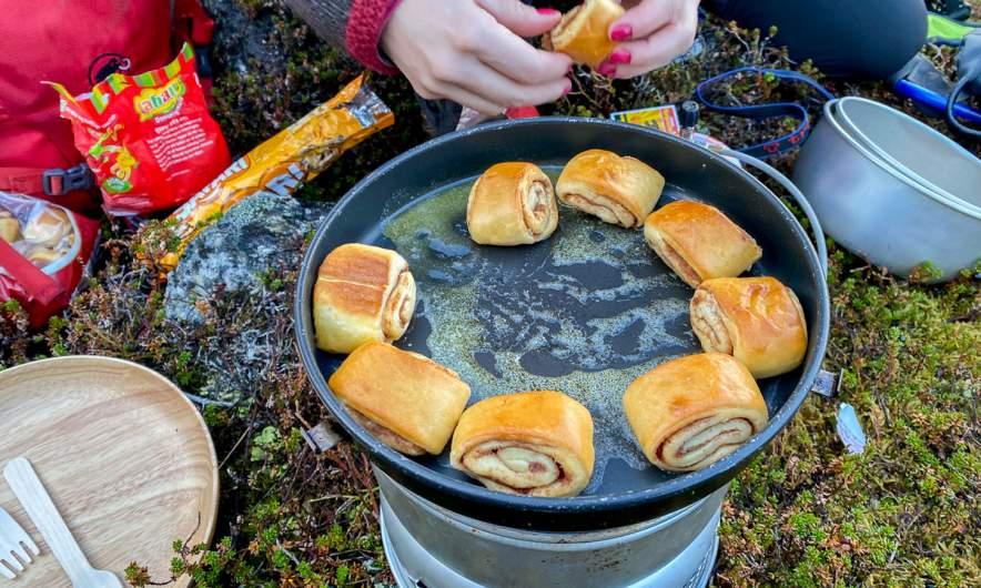 Cinnamon roll BBQ
