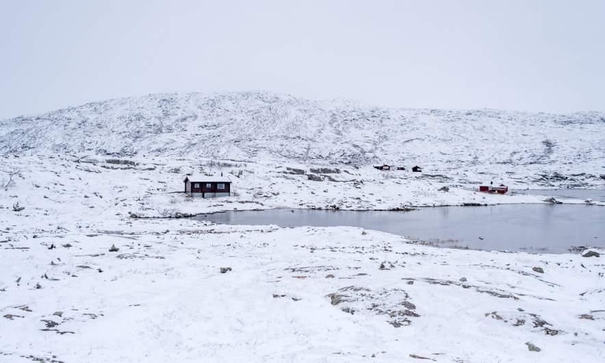"Norwegian ""kalfjell"" between Narvik and Riksgränsen"