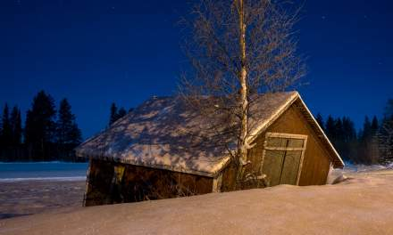 Old shed –night