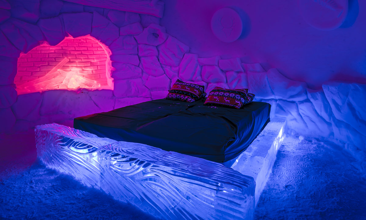 Kirkenes Snow Hotel The Lobby One Of Rooms