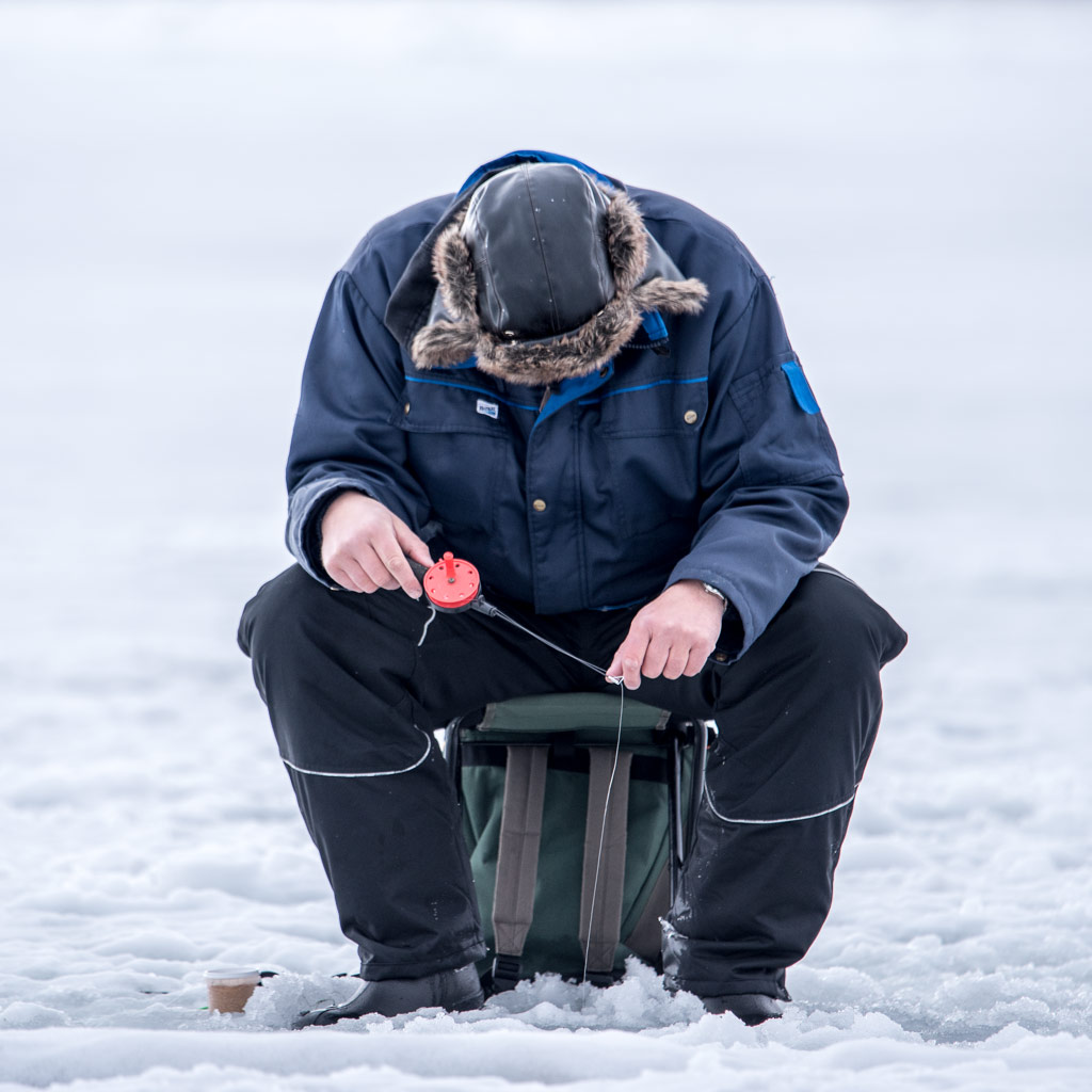 Ice fishing in skelleftehamn way up north for Ice fishing near me