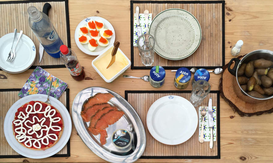 Midsummer meal